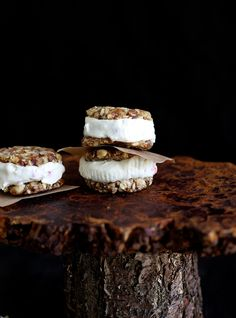 Cheesecake sandwich