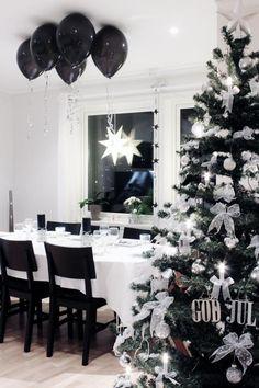 44 Best Black Christmas Decoration