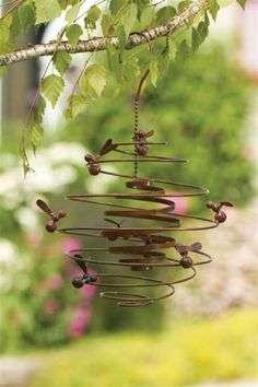 metal art - Bee hive { summertime cottage }