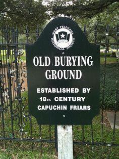 Sign at Mount Carmel Catholic Cemetery in St. Francisville    Mount Carmel Catholic Church Cemetery, St. Francisville, West Feliciana Parish, Louisiana