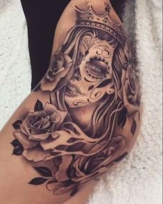 Best Cool Tattoo for Women (Cool Designs Flowers) - diy tattoo images - Tattoo Designs For Women Best Tattoos For Women, Tattoo Designs For Women, Trendy Tattoos, Mini Tattoos, Cute Tattoos, Tattoos For Guys, Henna Designs, Thigh Tattoos For Women, Art Designs