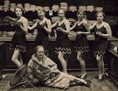 The lingerie department store of Wertheim's, Berlin 1928