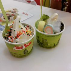 """@hily_juney's photo: """"#SnowYogurt #Pencil  with sis"""""""