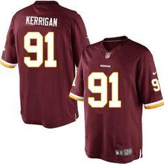 bba9a6c43 Men s Nike Washington Redskins  91 Ryan Kerrigan Limited Team Color Red  Jersey 89.99
