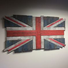 """134 Likes, 3 Comments - Neil Godding (@neilgodding_art) on Instagram: """"Had fun making this for my office wall a while back... Took a while but it was worth it. #unionflag…"""""""