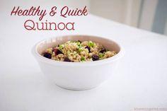 Recipe Box: Healthy & Quick Quinoa