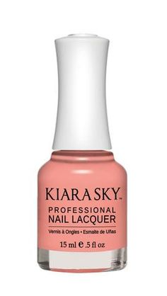 Kiara Sky Polish Getting Warmer N534. Kiara Sky® Professional Nail Lacquer is an advanced formula free of Formaldehyde, Toluene, and DBP. Our highly pigmented, high-fashion nail lacquer provides glassy, full coverage, long-wearing shine for natural nails. Kiara Sky patent-pending bottle design is paired with Precision Brush® technology engineered to complement our highly pigmented formula, giving you the most even and precise lacquer application. Available in 101 trendsetting...