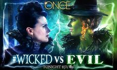 they should be switched with evil under regina and wicked under the wicked witch