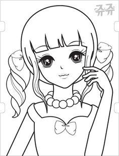 시크릿 쥬쥬 색칠공부 20종 파일 올려요~ 요즘 유치원에서 시크릿쥬쥬가 유행하는지 친구들끼리 서로 스티... Colouring Pages, Coloring Sheets, Coloring Books, Anime Chibi, Manga Anime, Barbie Drawing, Sketch Paper, Painted Books, Pencil Art Drawings