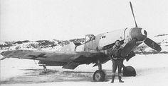 Messerschmitt Bf109K-4 belonging to Staffel III, Jagdgeschwader 27.