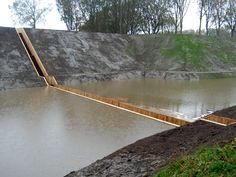 Fort de Roovere Trench Bridge by Ro Architects