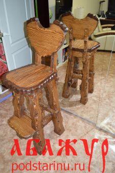Барный стул под старину подойдет в ресторан, кафе , пивное заведение..