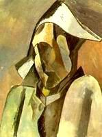 PICASSO/Buste d'arlequin 1909