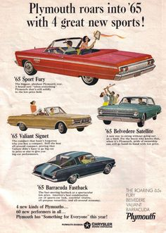 1965 Plymouths