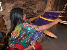 """[gallery type=""""square"""" ids=""""134,132,133″] Weaving textiles on a backstrap loom is ancient practice in Mesoamerica (and all over the world!). The loom itself is quite simple,…"""