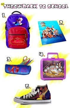 Our Dream '90s Disney School Supplies