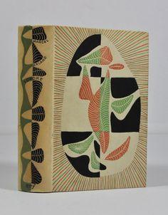 """Marcel Arland, """"L'ordre"""", maquette de Mario Prassinos, l'un des 1000 exemplaires numérotés sur alfa. Librairie L'Autre sommeil, Bécherel, cité du livre."""