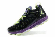 the best attitude cbc5b c8311 Jordan CP3.VI Midnight Navy Lime Green Volt Laser Purple Jordan Cp3,  Popular Shoes