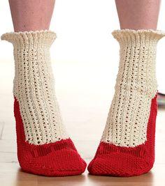 Agatha slipper socks - need to register and log in. Too cute