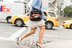 Pin for Later: It-Bags, Shoe Porn und all' die anderen coolen Accessoires der New York Fashion Week Accessoires Street Style bei der New York Fashion Week
