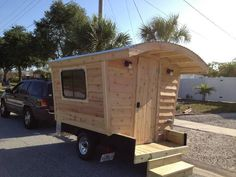 Vardo camper trailer