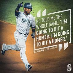 Called it. Mariners Baseball, Seattle Mariners, Baseball Cards, Sports, Hs Sports, Sport