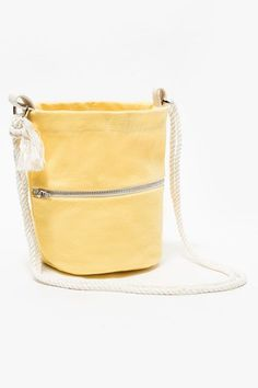 Turn you day right-side-up with a bright handbag.Lotfi Mini Bucket Bag, $52 $39.99, available at Need Supply Co. #refinery29 http://www.refinery29.com/best-bucket-bags#slide-7