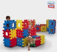Little Tikes Toy: Big Waffle® Blocks 2 Pack Bundle