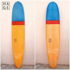 Hage Surfboards & Designs - longboard with resintint