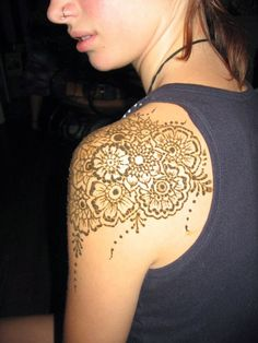 Flower Mehndi Designs | Indian Mehndi Designs 2014 for Bride Girls