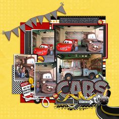 Cars - MouseScrappers - Disney Scrapbooking Gallery