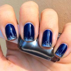 Nails Always Polished: Fancy Friday: Dry Brush