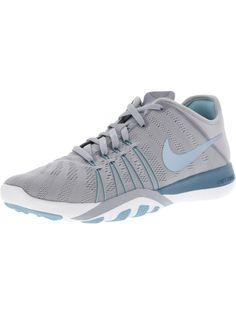 cheaper 81561 8d265 NIKE NIKE WOMEN S FREE TR 6 WOLF GREY   SMOKEY BLUE LOW TOP FABRIC RUNNING  SHOE - 7.5M.  nike  shoes