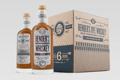 http://www.thedieline.com/blog/2014/11/7/benders-rye-whiskey
