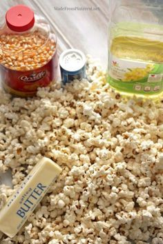 Popcorn Secret That No One is Telling You The real secret to perfect homemade popcorn that no one is telling you.until now.The real secret to perfect homemade popcorn that no one is telling you.until now. Yummy Snacks, Healthy Snacks, Yummy Food, Healthy Recipes, Homemade Popcorn, Popcorn Recipes, Popcorn Snacks, Appetizer Recipes, Snack Recipes