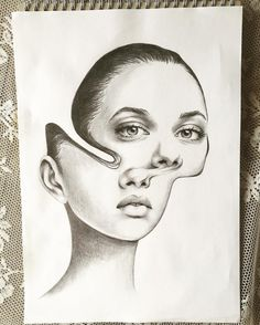 marina nery, surreal, drawing, art, sketch, illustration, realistic, messy, illustration, abstract, dilara us