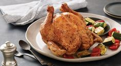 Find the best grilled poultry recipes for wings, beer can chicken, turkey, hens and duck. Weber shows you how to make the perfect grilled chicken & poultry. Beer Chicken, Herb Roasted Chicken, Grilled Chicken Recipes, Weber Grill Recipes, Summer Grilling Recipes, Summer Recipes, Appetizer Recipes, Main Dishes, Cooking Recipes