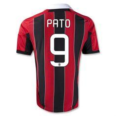 12/13 AC Milan #9 PATO Home Thailand Qualty Soccer Jersey Shirt #cheap soccer AC Milan soccer jersey