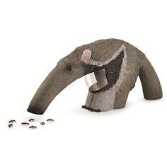 Anteater Bug Vac - Collect and observe live bugs - Bug vacuum looks like a real Anteater - belly detaches for close-up observations
