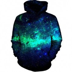 Find On Cue Apparel Green Galaxy Hoodie - Premium All Over Print Hoodies online. Shop the latest collection of On Cue Apparel Green Galaxy Hoodie - Premium All Over Print Hoodies from the popular stores - all in one Galaxy Hoodie, Rave Outfits, Cool Outfits, Guy Outfits, Anime Outfits, Green Galaxy, Cool Hoodies, Stylish Hoodies, Comfortable Fashion
