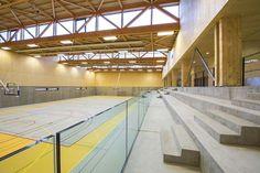Gymnase à Rillieux-la-Pape - Tectoniques