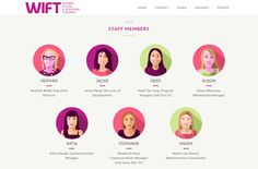 Staff avatars from Women in Film & TV's online 2015 Annual Review ~Art+Soul Design Connected Learning, Annual Review, Soul Design, Annual Report Design, Film, Women, Art, Movie, Art Background