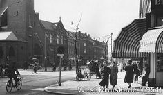 West Kruiskade Rotterdam (jaartal: 1950 tot 1960) - Foto's SERC