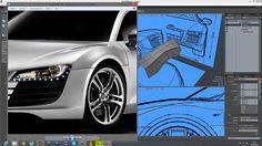 Modelando un AUDI R8: CUBIERTAS DELANTERAS