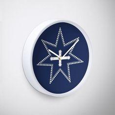 'Eureka Flag' Clock by hitpointer Eureka Flag, Eureka Stockade, Clock, Watch, Clocks