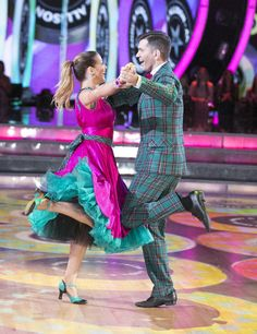 Andy G & Allison Quickstep TV Week American Bandstand