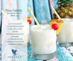 Pina Colada smoothie - Ananászos Forever JOOST -tal