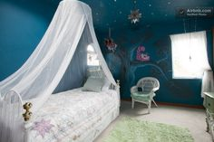 The Alice in Wonderland room in The BYH Bed and Breakfast in Portland, Oregon