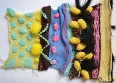 ARTS THREAD Portfolios - ARTS THREAD Knitting Designs, Knitting Stitches, Knitting Patterns, Creative Knitting, Yarn Inspiration, Pattern Making, Textile Art, Hand Embroidery, Knit Crochet