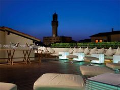 La Terrazza Florence: best rooftop bar | video blog | http://www.yourlittleblackbook.me/la-terrazza-florence-rooftop/ More tips about restaurants, shopping and hotspots are in the Florence City Guide on Your Little Black Book.